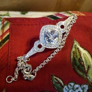 Jewelry - **SUPER SALES**WHITE SAPPHIRE BRACELET