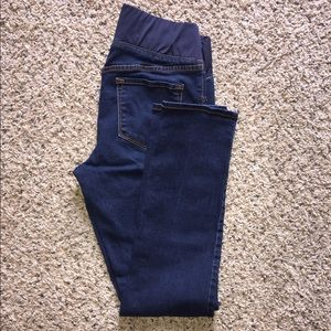 Old Navy Pants - Old Navy Low Panel Maternity Jeans