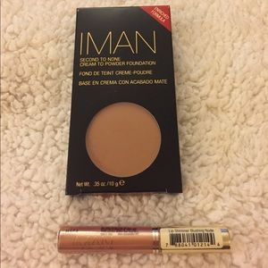 IMAN Other - 💥IMAN Cream to powder Foundation Clay 3 + Shimmer