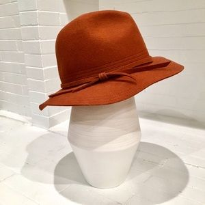 San Diego Hat Company Accessories - 100% Wool Rust Colored Floppy Hat
