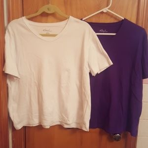 Kim Rogers Tops - Never worn bundle of shirts size L