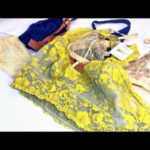 c8e5c2d821 Free People Intimates   Sleepwear - Five Bralettes