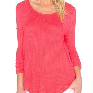 Free People Ventura Thermal in Poppy