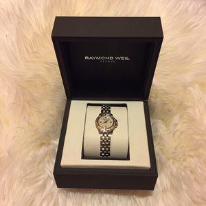 Raymond Weil Accessories - $1750 Authentic Raymond Weil diamond bezel 💝
