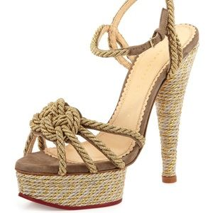 Charlotte Olympia Shoes - Charlotte Olympia tangled high heels