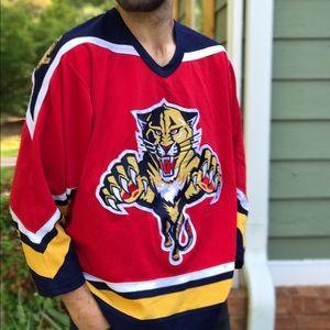 Florida Panthers VTG Hockey Jersey Center Ice NHL