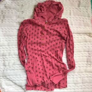 Bird by Juicy Couture Tops - Pinky Juicy thermal hoodie Sz Small
