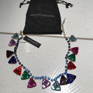 Erickson Beamon Jewelry - NWT Erickson Beamon for Target Triangle Necklace