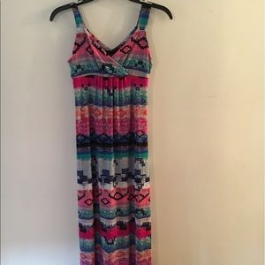 🔥🔥 beautifully multicolored patterned Maxi dress