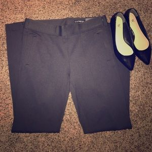 NWT Gray ankle pants