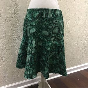 Altuzarra For Target Dresses & Skirts - Altuzarra green reptile print A Line skirt size 12