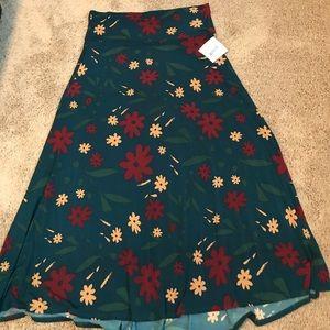 LulaRoe 2X Maxi Skirt