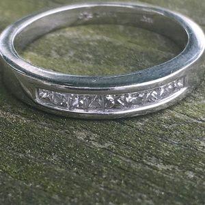 Kay Jewelers Jewelry - 14k white gold diamond band