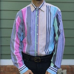 Polo by Ralph Lauren Other - Gorgeous 80's Vintage Polo R.L Striped Shirt XL