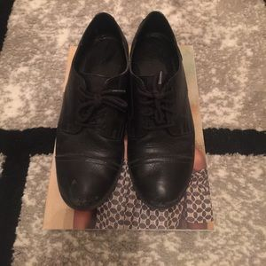 Aldo Black Loafers- real leather