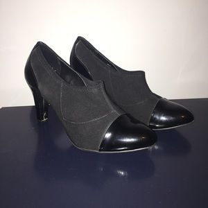 Etienne Aigner Shoes - Etienne Aigner 3' Black Ankle Boots. Like new!!!
