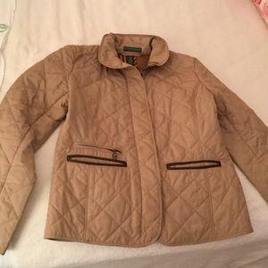 Lauren Jeans Company Ralph Lauren Quilted Coat