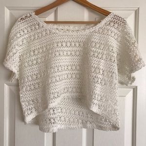 Tops - Crochet crop top