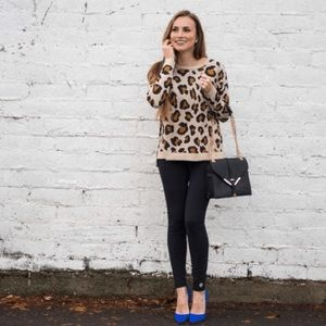 H&M Sweaters - H&M Leopard Print Sweater