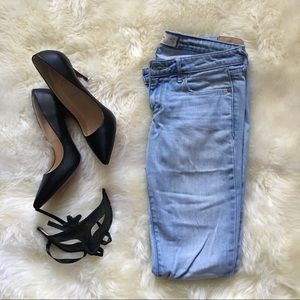 Abercrombie & Fitch Light Blue Skinny Jeans