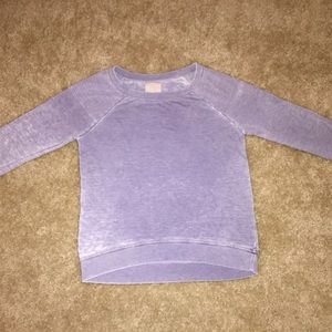 Chaser Sweaters - Chaser Distressed-Wash Sweatshirt