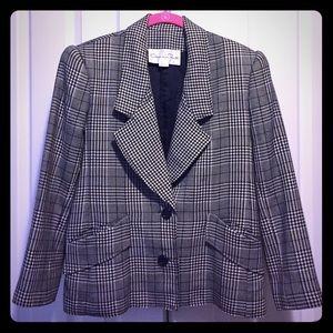 Oscar de la Renta Jackets & Blazers - Houndstooth blazer