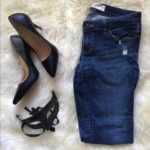 Abercrombie &a Fitch Dark Denim Skinny Jeans