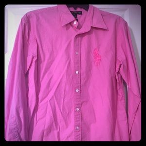 Ralph Lauren Women's Oxford-size 10. GUC