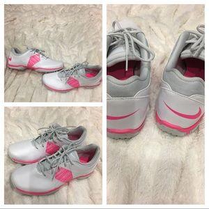 Nike Shoes - Nike womens sneakers running baseball pink white