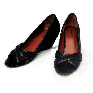 Elizabeth and James Shoes - Elizabeth and James Prim wedge sandal