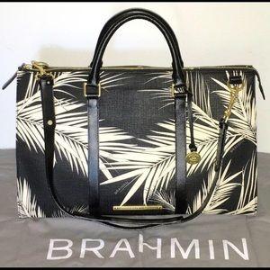 Brahmin Handbags - Brahmin Anytime Weekender Black Palm