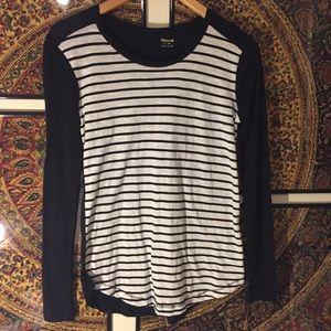 Madewell Long Sleeve Stripe Top