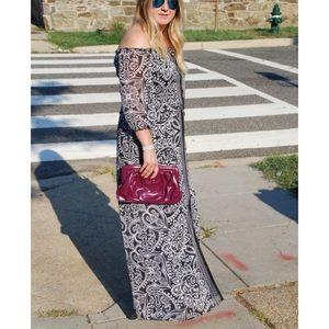 White House Black Market Dresses & Skirts - WHBM Off the Shoulder Maxi Dress