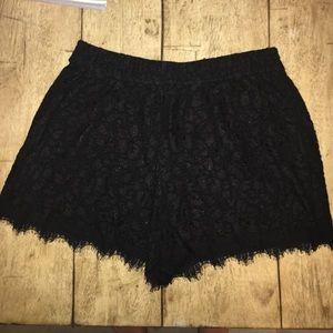 Diane von Furstenberg Pants - Diane von Furstenberg Lace Shorts