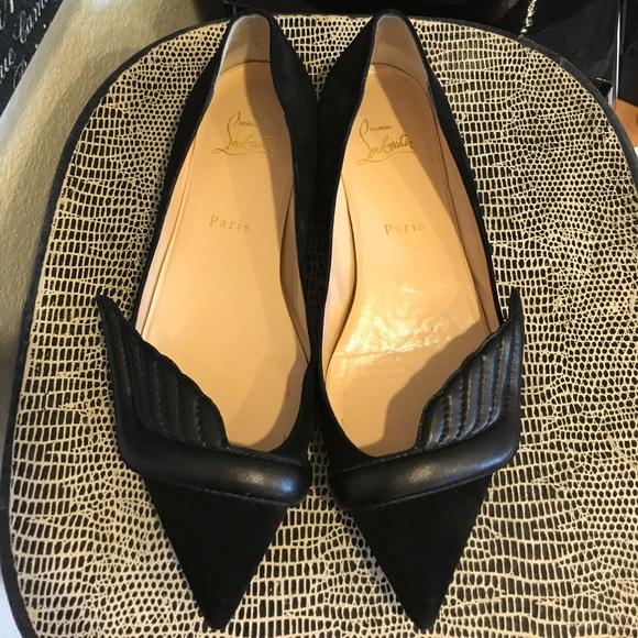 734126a2881 Christian Louboutin Shoes - SALE Auth Christian Louboutin Miss Mars Veau  Flats