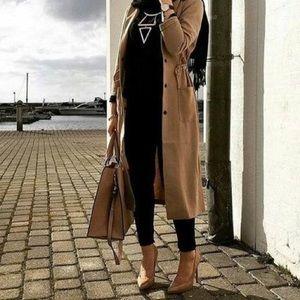 Tan Long Jacket