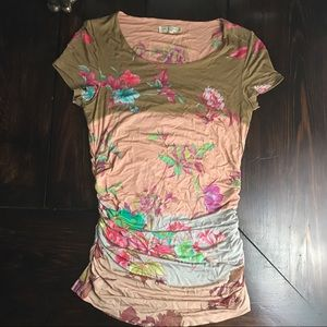 Etro Tops - Etro casual floral short sleeved top
