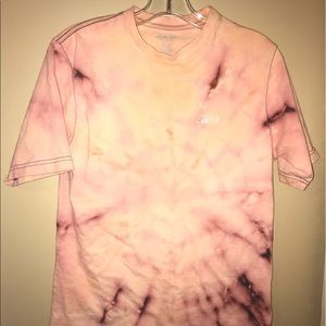Pink and Black Tie Dye tee