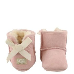 Infant Bow Uggs Pink