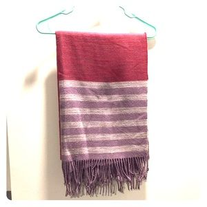 Beautiful and soft purple scarf