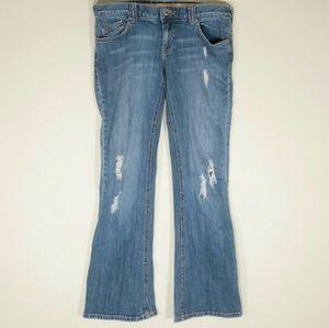 Roxy Denim - *1 hour sale* Distressed Roxy Jeans Size 9