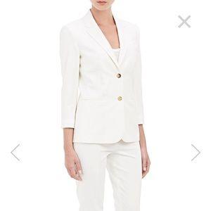 The Row Jackets & Blazers - The Row chic minimalist silk and wool blazer
