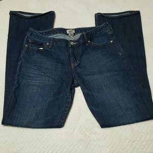 GAP Denim - Gap Curvy Flare Dark Wash Jeans Size 10 & 30 L