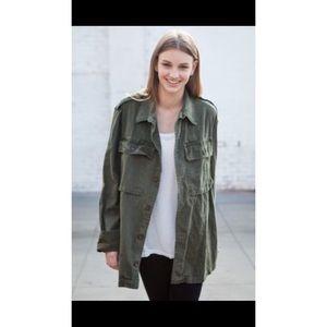 Brandy Melville Army Jacket