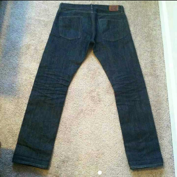 58 off gap other mens gap selvedge slim fit jeans from for Do true religion shirts run small or big