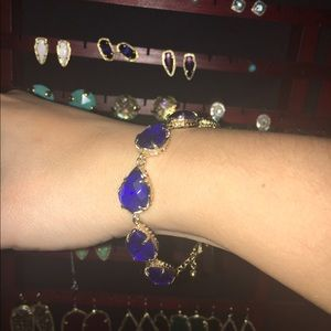 Kendra Scott Brynn Bracelet - Cobalt Blue
