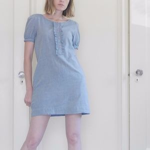 Pins & Needles Chambray Dress