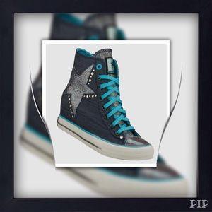Skechers Shoes - Skechers Daddy's Money Secret Wedge Sneakers