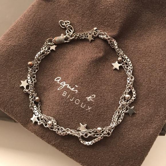 Agnes B Jewelry Agnes B Sterling Silver Starlight