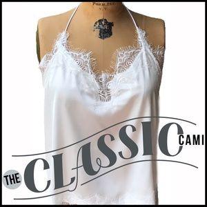 Boutique Tops - Classic Cami Halter Top